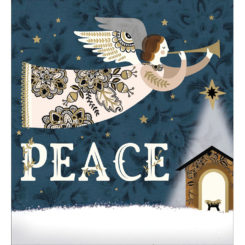 Pease On Earth Pack of 5 Christmas Cards