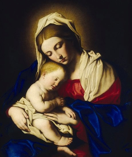 Madonna And Child Pack of 5 Christmas Cards