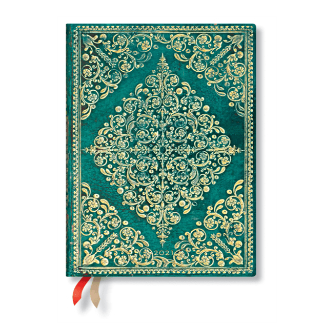 Paperblanks Oceania Midi - 12 Month Planner (Week At A Time)