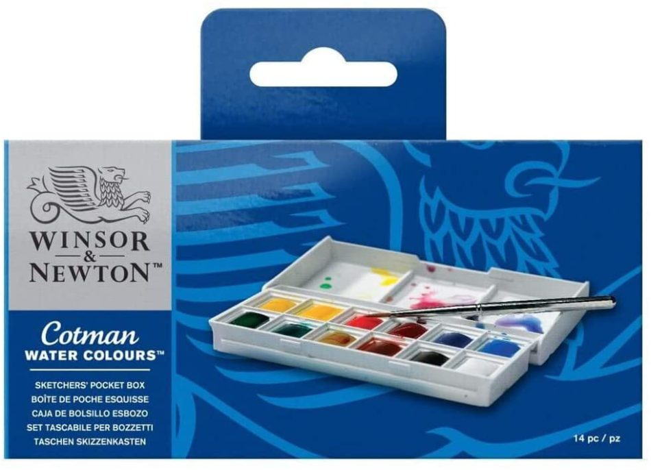 Winsor and Newton Water Colour Paint Pocketbox