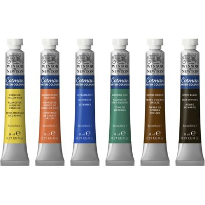 Cotman Watercolour Paint 8ml Tubes