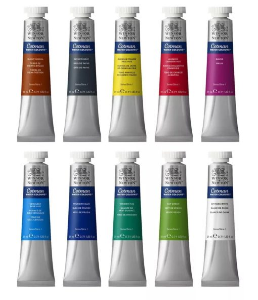Cotman Watercolour Paint 21ml Tubes