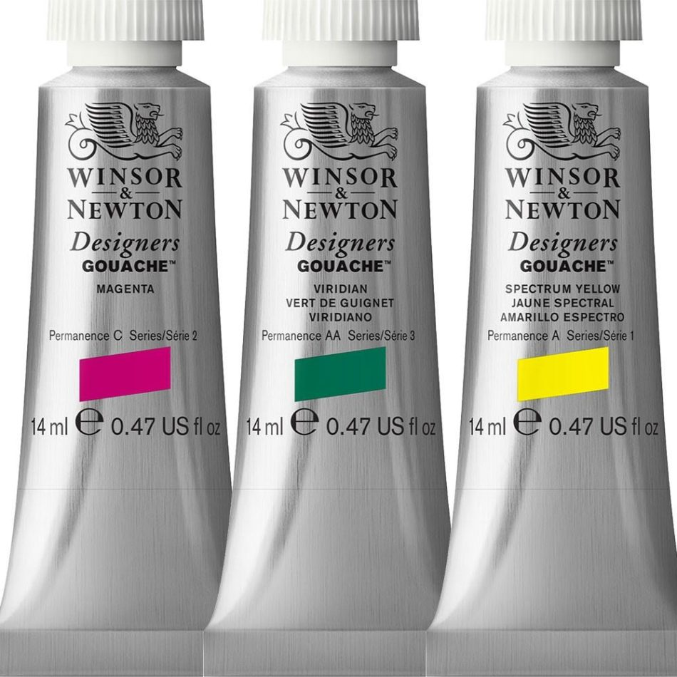 Winsor and Newton Designers Gouache Paint