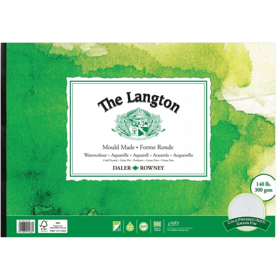 The Langton Watercolour Paper