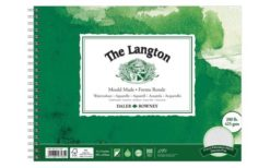 The Langton Watercolour Paper Spiral - Daler & Rowney - 12 x 9 inches