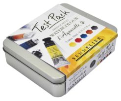 Sennelier Watercolour Test Pack of 5