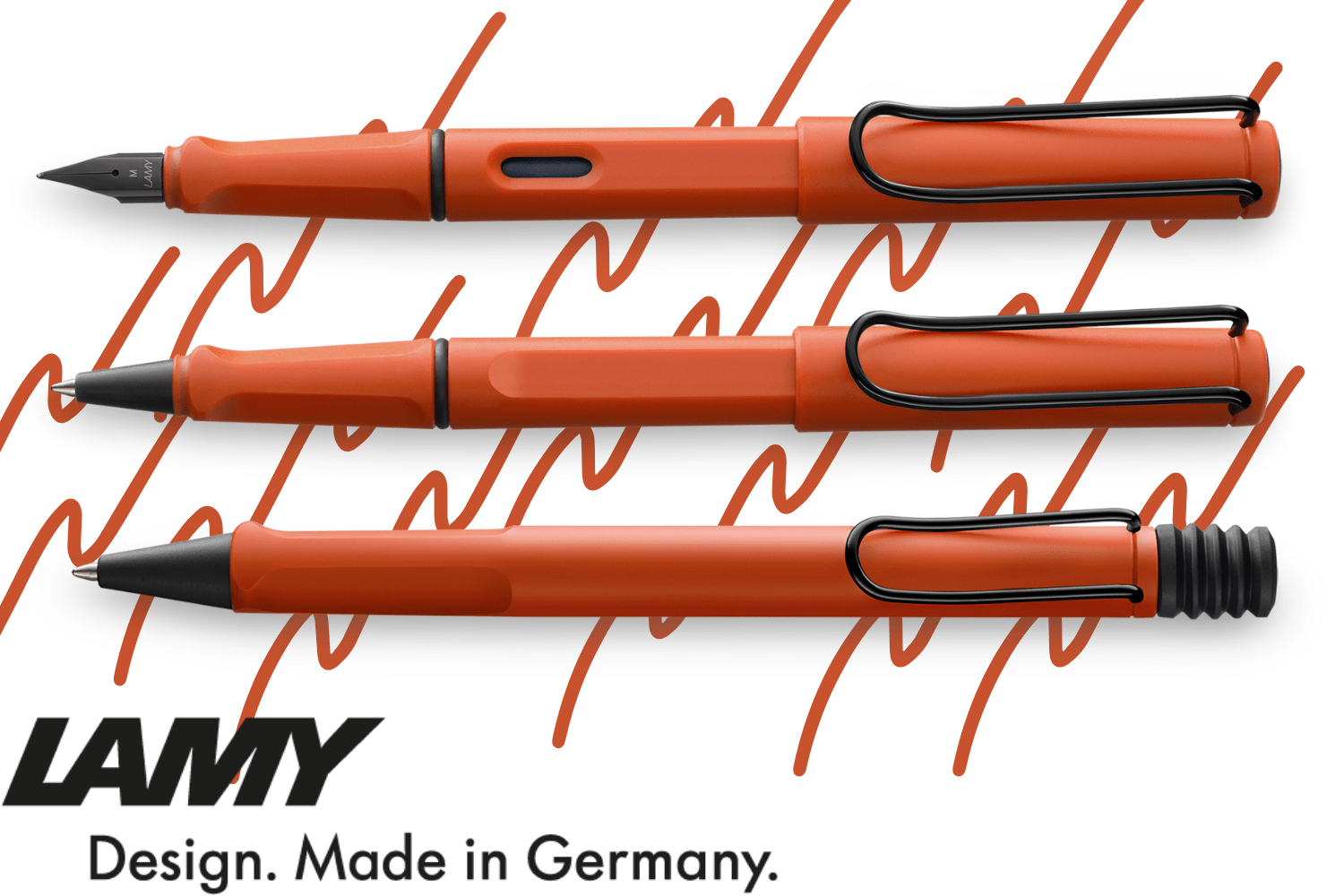 Lamy Safari Special Edition 2021 Pens Have Landed! - Savannah Green and Terra Red