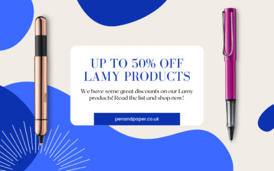 Lamy Sale – Up to 50% off Lamy Products!!!